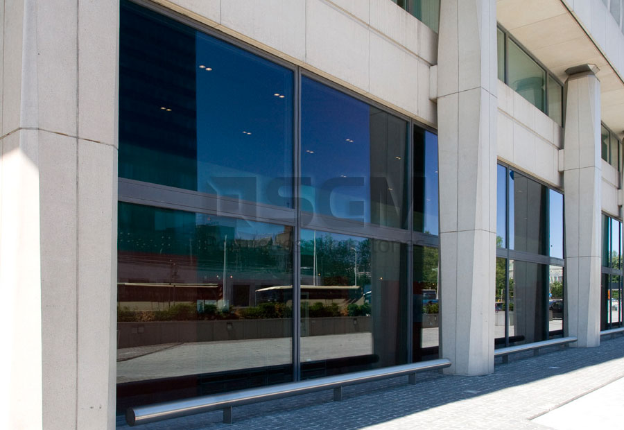Dexia Bank Brussels – Moca Creme limestone