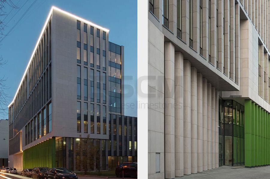 Krasina Business Center Moscow – Portuguese limestone