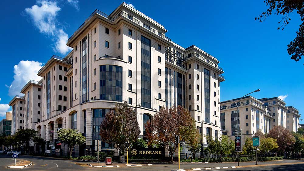 Nedbank South Africa – Moca Creme limestone