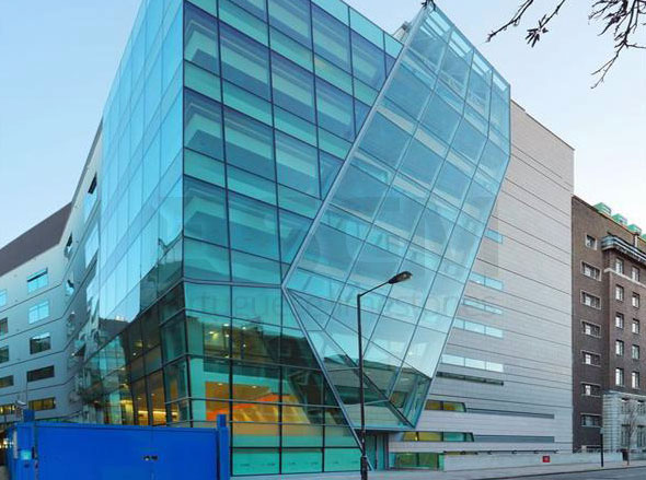 Great Ormond St Hospital – Moleanos limestone cladding