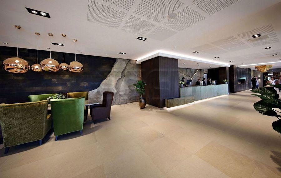 Van der Valk hotel – Moleanos Beige limestone