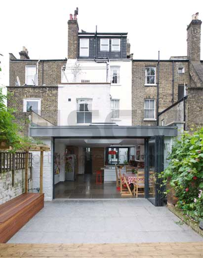 Private residence London – Grey limestone